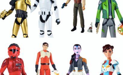 Erster Blick auf neue Hasbro 3.75″ Figuren zu Star Wars Resistance