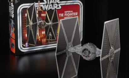 Weitere Produktbilder zum Imperial TIE Fighter für die Hasbro Vintage Collection