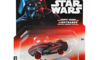 "Zwei weitere Hot Wheels Star Wars ""Lightsaber Series"" Character Cars"