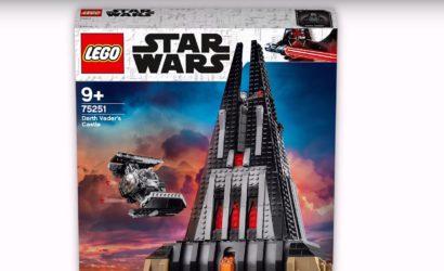 Das LEGO 75251 Darth Vader's Castle ist heute mit 23% Rabatt erhältlich!