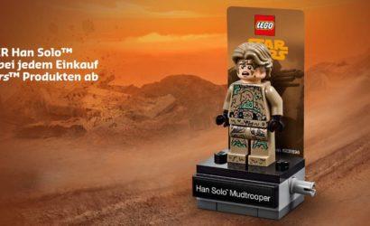 Viele neue LEGO Star Wars-Sets und Han Solo (Mudtrooper) Minifigur verfügbar