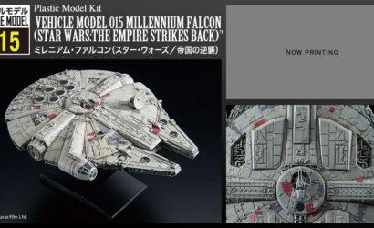 Bandai Millennium Falcon (ESB) als Vehicle Model angekündigt