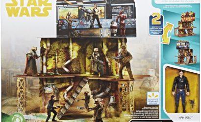 "Offizielle Produktbilder zum Hasbro Force Link 2.0 ""Kessel Mine Escape"" Cardboard-Set"
