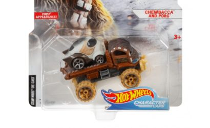 Hot Wheels TIE Fighter Pilot & Chewbacca with Porg Character Cars aufgetaucht