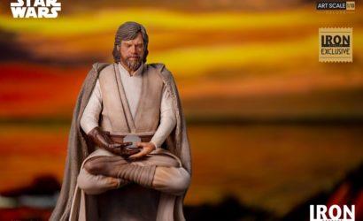 Iron Studios kündigt Luke Skywalker (The Last Jedi) 1/10 Art Scale-Statue an
