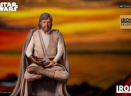 Iron Studios kündigt Luke Skywalker (The Last Jedi) 1/10 Art Scale-Statue an