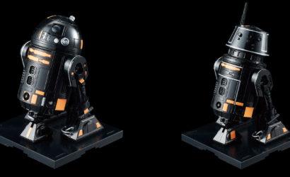 Bandai veröffentlicht R5-J2 und R2-Q5 Astromechs als 1/12 Model-Kits