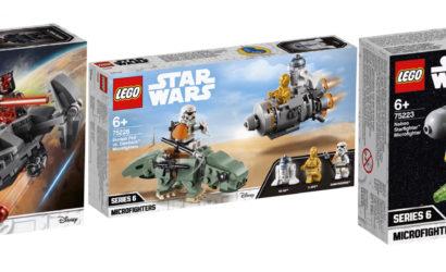 Alle Infos zu den neuen Winter 2019 LEGO Star Wars Microfighters