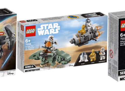 Alle Infos zu den neuen Winter 2019 LEGO Star Wars Microfighters