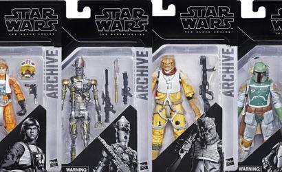 """Alle Infos und Bilder zur Hasbro Black Series """"Archive"""" Wave 1"""