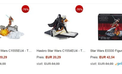 Viele gute Hasbro Black Series 6″-Deals bei Amazon!