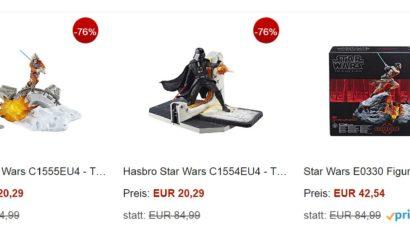 Viele gute Hasbro Black Series 6″-Deals bei Amazon!