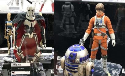 Einige bisher unbekannte S.H.Figuarts Star Wars 6″-Figuren ausgestellt!