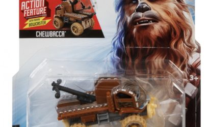 "Offizielle Bilder zu den Hot Wheels Star Wars ""Action Feature"" Character Cars"