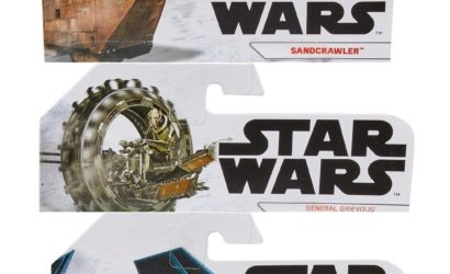 Hot Wheels Star Wars Die-Cast Starships: Neue Pressebilder