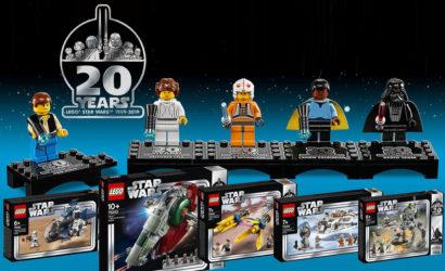 Alle Infos und Bilder zu den LEGO Star Wars 20th Anniversary-Sets 2019