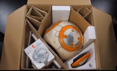 Unboxing-Videos zu den Sideshow Yoda- und BB-8-Life-Size Statuen