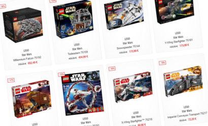 LEGO Star Wars-Sonntagsangebote bei GALERIA Kaufhof!