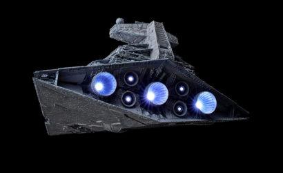 Beleuchteter Bandai Star Destroyer im Maßstab 1:5000 ab sofort verfügbar!