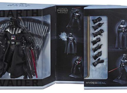 Erste Live-Eindrücke zum Hasbro Black Series HYPERREAL 8″ Darth Vader