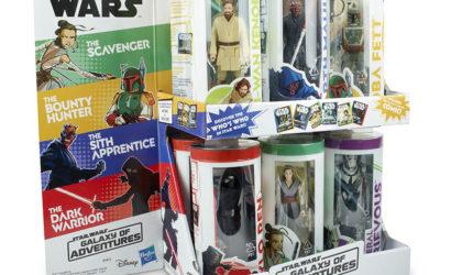 3. Wave der Hasbro Star Wars Galaxy of Adventures 3.75″-Reihe angekündigt