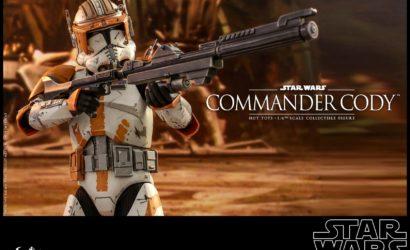 Hot Toys Commander Cody 1/6 Scale Figure offiziell vorgestellt