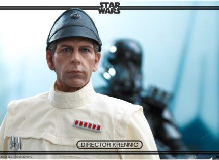 Hot Toys 1/6 Scale Director Krennic: Bilder des Endprodukts