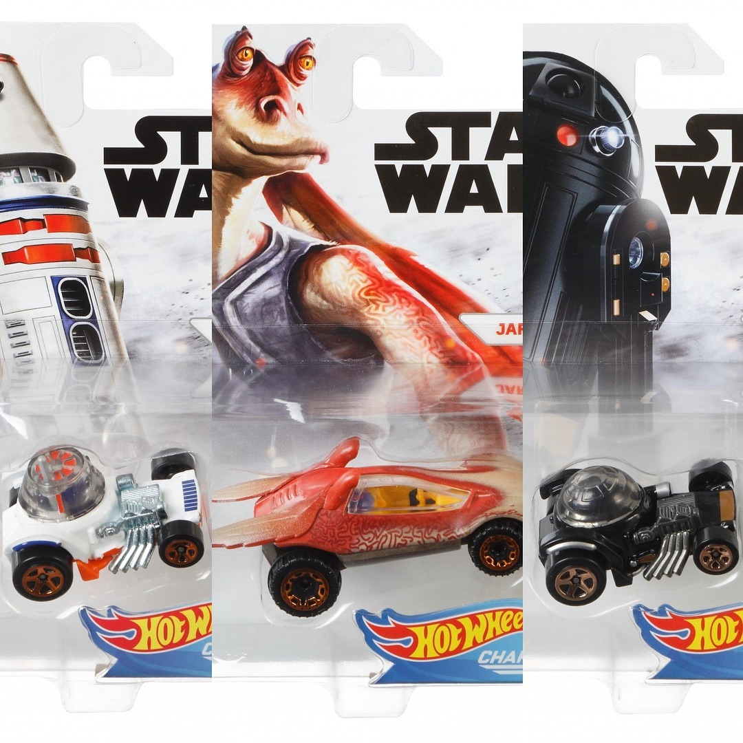 Autos Hot Wheels Star Wars Rogue One Character Cars  in 1:64   11 ´ er Set  DXN83-999D