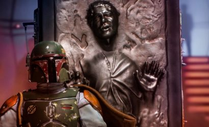 Iron Studios Boba Fett & Han Solo in Carbonite angekündigt