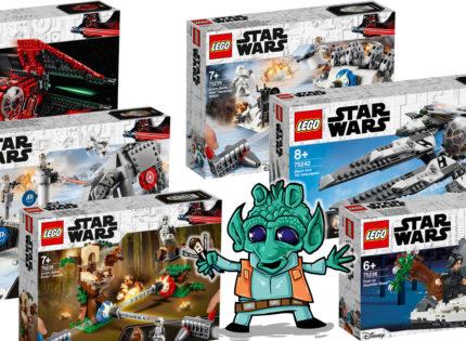 Alle offiziellen Bilder und Infos zu den neuen LEGO Star Wars 2019-Sets