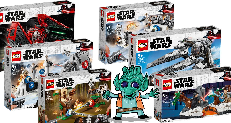 alle offiziellen bilder und infos zu den neuen lego star. Black Bedroom Furniture Sets. Home Design Ideas