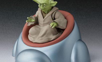 Alle Infos und Bilder zur Tamashii Nations S.H.Figuarts 6″ Yoda-Figur