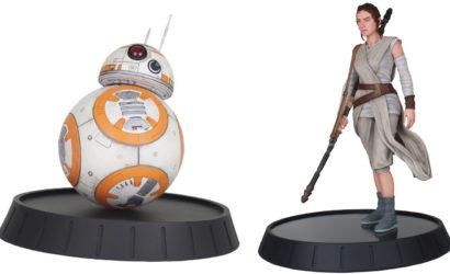 "Rey & BB-8 als ""Milestone Statues"" von Diamond Select Toys"