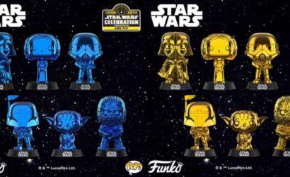 """Funko POP! """"Shared-Exclusives"""" nach der Star Wars Celebration 2019"""