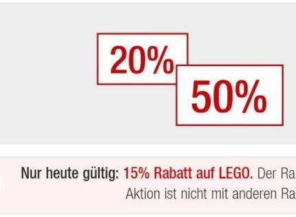 Alle LEGO Star Wars-Produkte mit Sonntagsrabatt bei GALERIA Kaufhof!