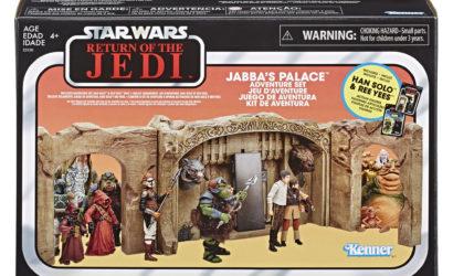 Hasbro TVC 3.75″ Jabba's Palace Adventure Set ab sofort lieferbar!