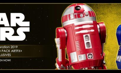 Neue Bilder zum Kotobukiya Astromech 2-Pack zur Star Wars Celebration 2019