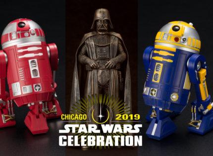 Neue Kotobukiya-Figuren anlässlich der Star Wars Celebration 2019 vorgestellt