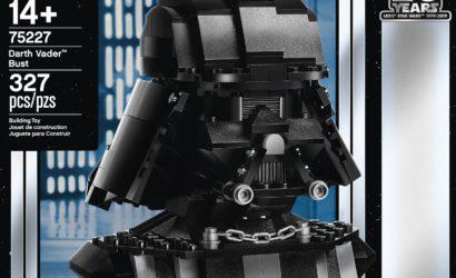 LEGO 75227 Darth Vader Bust als Star Wars Celebration Exclusive