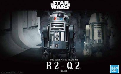 Finale Bilder zum neuen Bandai R2-Q2 Model-Kit
