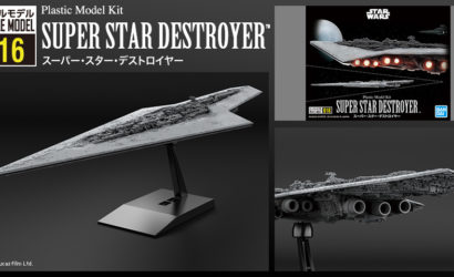 Super Star Destroyer als Bandai Star Wars Vehicle Model Nr. 16