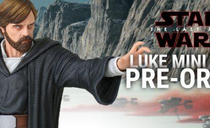 Alle Infos zur Gentle Giant Luke Skywalker (Crait) 1/6 Scale Mini-Bust