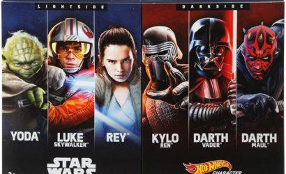 """Neues Hot Wheels Star Wars """"Lightside vs Darkside"""" Multipack aufgetaucht!"""
