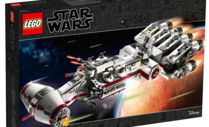 Erstes Speedbuild-Video zur neuen LEGO Star Wars 75244 Tantive IV