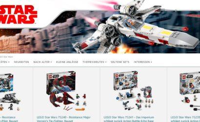 LEGO Star Wars mit mindestens 25% Rabatt bei Amazon.de