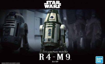 Bandai R4-M9 Model-Kit – Bilder des fertigen Produkts