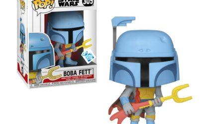 Funko POP! Star Wars Animated Boba Fett-Wackelkopf aufgetaucht