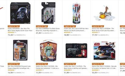 """Bis zu 80% Rabatt auf Hasbro-Artikel zur """"May the 4th""""-Aktion bei Amazon.de"""