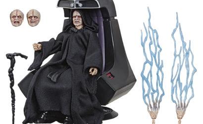 Neue Bilder zum Black Series 6″ Emperor Palpatine mit Thron
