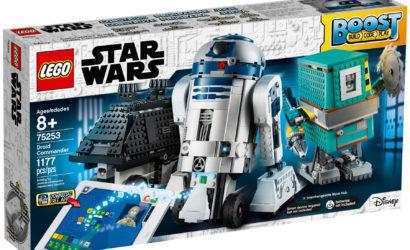 Alle Informationen zum LEGO Star Wars 75253 BOOST Droid Commander-Set